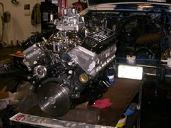 Chevrolet Zz Fast Burn Aluminum Heads Motor on 383 Small Block Chevy Crate Engines